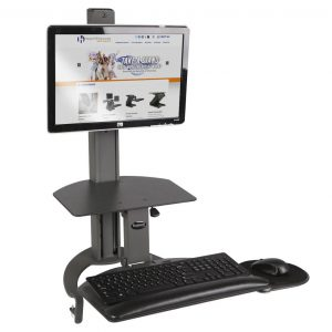 TASKMATE™ 6300 Sit-Stand Station – Single Monitor