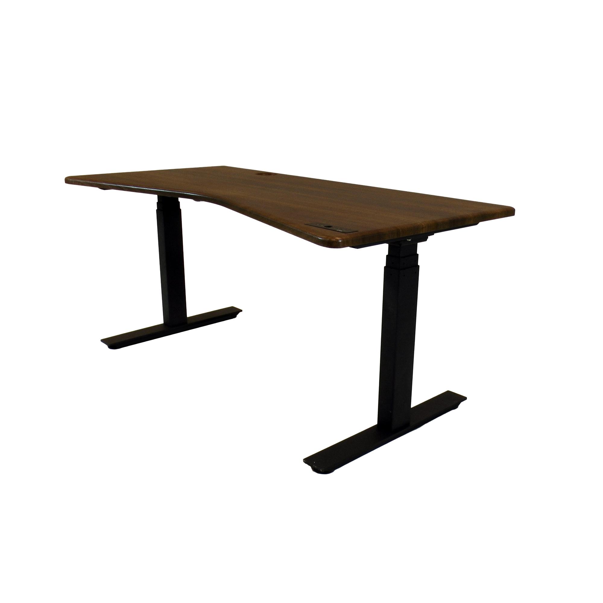 Ergospec Premium V Shape Sit To Stand Workstation