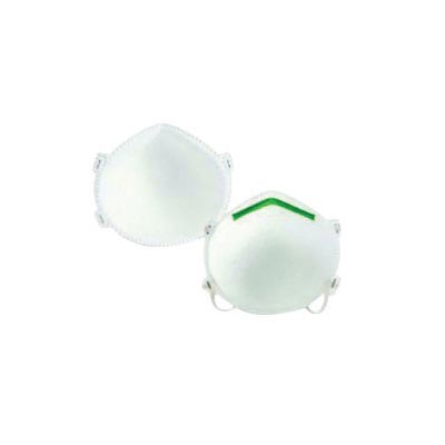 North® by Honeywell Medium - Large N95 SAF-T-FIT® Plus Economy Disposable  Particulate Respirator With Green Nose Bridge And Foam Nose Seal - Meets