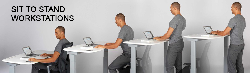 ErgoSpec Sit to Stand Workstation Image