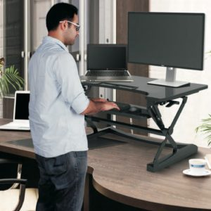 Sit stand workstation loctek