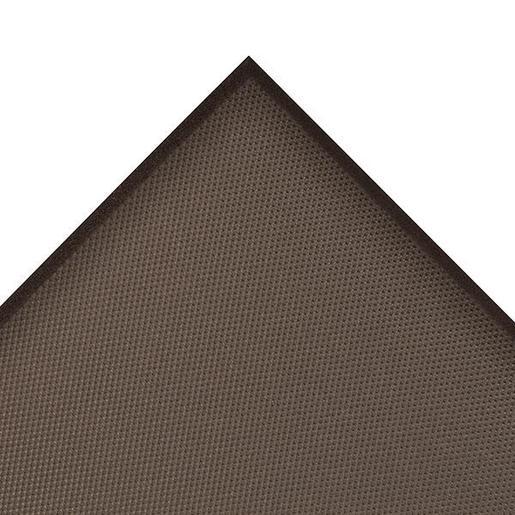 "Superior Manufacturing 3"" X 4"" Black 5/8"" Thick Rubber And Vinyl T17 Superfoam® Non-Slip  Anti-Fatigue Floor Mat"