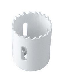 "Radnor 1 1/2"" 4/6 Tooth Per Inch Style 24L Bi-Metal Hole Saw"