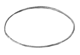 "Radnor 44 7/8"" X 1/2"" X .020 Bi-Metal Portaband Bandsaw Blade With 14/18 Tooth Per Inch (3 Per Box)"