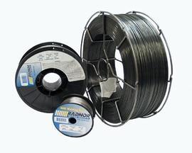 ".035"" E71T-11 Radnor 71T-11 Self Shielded Flux Core Carbon Steel Tubular Welding Wire 10# Plastic Spool"