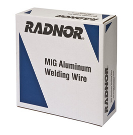 """3/16"""" ER4043 Radnor 4043 Aluminum MIG Welding Wire 16# Steel Spool"""