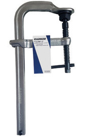 "Radnor 12"" Metal Heavy Duty Floor Clamp With Tempered Rail And Drop-Forged Sliding Arm"