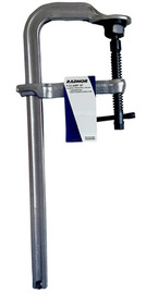 "Radnor 16"" Metal Heavy Duty Floor Clamp With Tempered Rail And Drop-Forged Sliding Arm"