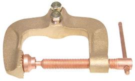 Radnor Model GC-600-50 Tweco Rotary Style 600 Amp Copper Ground Clamp