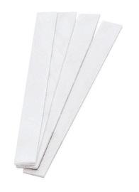 """Radnor 1/16"""" X 1/2"""" X 5"""" Flat Thin Line No. 1 Select Soapstone (10 Per Card)"""