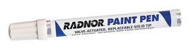 Radnor White Fiber Tip Paint Pen