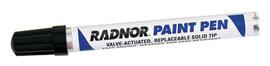 Radnor Black Fiber Tip Paint Pen