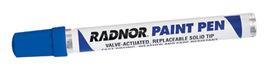 Radnor Blue Fiber Tip Paint Pen
