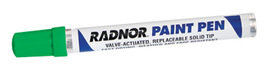 Radnor Green Fiber Tip Paint Pen