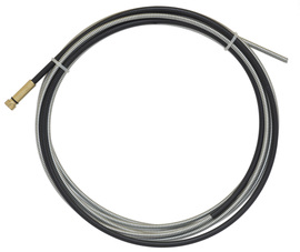 "Radnor Model 44-3545-15 .035"" - .045"" X 15' Zinc Plated MB Spring Wire Liner For Use With  300 - 500 Amp Tweco Eliminator, Tweco Spray Master, Tweco No. 3, Tweco No. 4, Tweco No. 5 X-Gun And Radnor MIG Guns"
