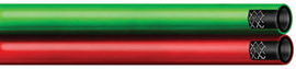 "Radnor 1/4"" X 100' Grade T Twin Welding Hose With BB Fittings"