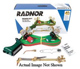 Radnor Model 250-510LP DLX Victor Style Radnor Medium-Duty Propane Cutting Outfit, CGA-510LP
