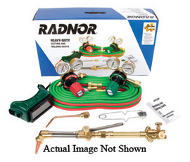 Radnor Model 350-510LP DLX Victor Style Radnor Heavy-Duty Propane Welding And Cutting Outfit, CGA-510LP
