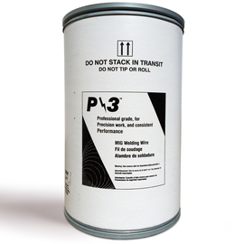 ".035"" ER70S-3 Radnor P/3ª S-3 Copper Coated Carbon Steel MIG Welding Wire 500# Drum Pack"