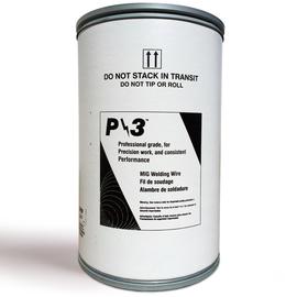 ".030"" ER70S-6 Radnor P/3ª S-6 Copper Coated Carbon Steel MIG Welding Wire 500# Drum Pack"