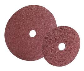 "Radnor 4 1/2"" X 7/8"" 24 Grit Aluminum Oxide Fiber Disc"