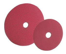 "Radnor 4 1/2"" X 7/8"" 24 Grit Ceramic Fiber Disc"