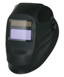 Radnor Lite Black Welding Helmet With 90mm X 110mm Variable Shades 9 - 13 Auto Darkening Lens