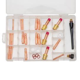 Radnor MAK-2S Master Accessory Kit For Radnor 17, 18 And 26 Model TIG Torches