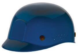 Radnor Blue Polyethylene Cap Style Bump Cap With Suspension