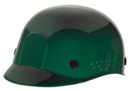 Radnor Green Polyethylene Cap Style Bump Cap With Suspension