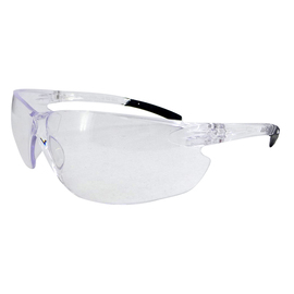 Radnor Classic Plus Series Safety Glasses With Clear Frame And Clear Polycarbonate Hard Coat Lens