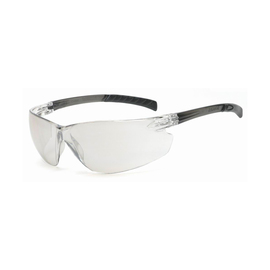 Radnor Classic Plus Series Safety Glasses With Gray Frame And Clear Polycarbonate Hard Coat Indoor/Outdoor Lens