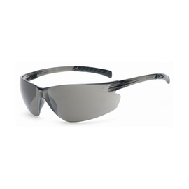 Radnor Classic Plus Series Safety Glasses With Gray Frame And Gray Polycarbonate Hard Coat Anti-Fog Lens