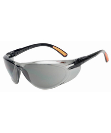 Radnor Action Series Safety Glasses With Clear Frame And Clear Indoor/Outdoor Lens