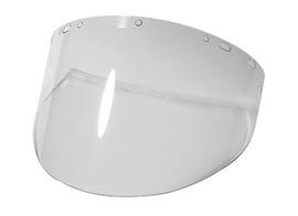 "Radnor 8"" X 15 1/2"" X .060"" Clear Polycarbonate Faceshield"