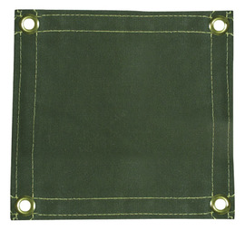 Radnor 6' X 6' 12 Ounce Olive Drab Duck Canvas Replacement Welding Screen