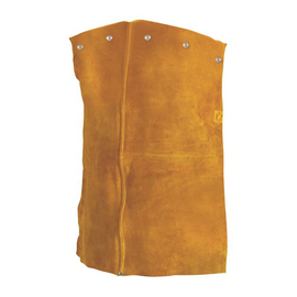 """Radnor 20"""" Bourbon Brown Premium Side Split Leather Bib With Snap Attachment And Side Release Buckle (Fits Cap Sleeves Small - X-Large)"""