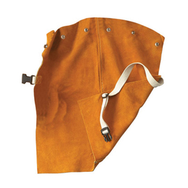 """Radnor 24"""" Bourbon Brown Premium Side Split Leather Bib With Snap Attachment And Side Release Buckle (Fits Cap Sleeves Small - X-Large)"""