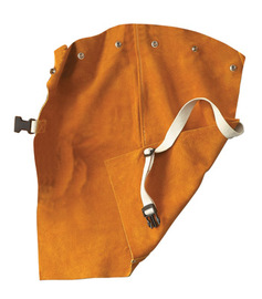 """Radnor 24"""" Bourbon Brown Premium Side Split Leather Bib With Snap Attachment And Side Release Buckle (Fits Cap Sleeves 2X - 3X)"""