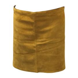 "Radnor 24"" X 18"" Bourbon Brown Premium Side Split Leather Waist Apron With Heavy Duty Waist Strap"
