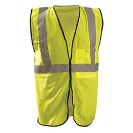 Radnor 2X | 3X | 2X/3X Yellow Polyester/Mesh Economy Vest