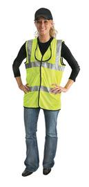 Radnor 3X Yellow Polyester/Mesh Dual Strip Vest