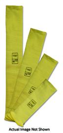 "Radnor 22"" Yellow DuPontª Kevlar Brand Fiber 2-Ply Cut Resistant Sleeve"