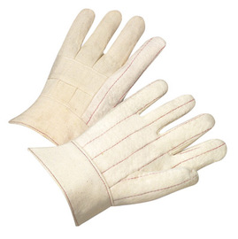 Radnor Heavy-Weight Nap-Out Hot Mill Glove With Band Top Cuff