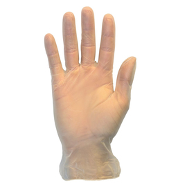 Radnor X-Large Clear 3.5 mil Vinyl Lightly Powdered Disposable Gloves (100 Gloves Per Box)