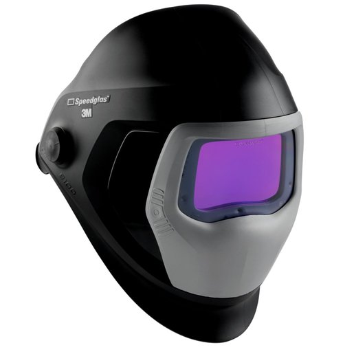 3M™ Speedglas™ Welding Helmet 9100 with Side Windows and Auto-Darkening Filter 9100XXi