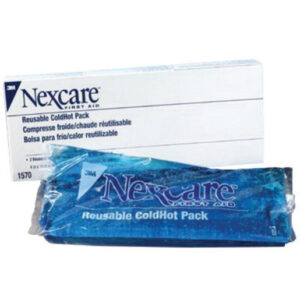"3M™ 4"" X 10"" Nexcare™ Reusable Gel Cold or Hot Pack With Cover (2 Per Box)"