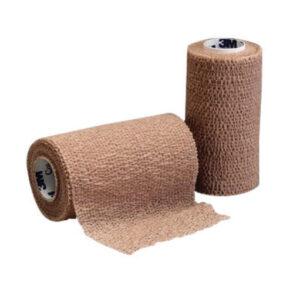 """3M™ 4"""" X 5 Yard Roll Tan Coban™ Self-Adherent Elastic Wrap (18 Roll Per Case)"""