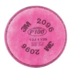 3M™ 2096 P100 Filter For 5000, 6000, 6500, 7000 And FF-400 Series Respirators