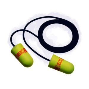 3M™ E-A-Rsoft™ Tapered Foam Polyurethane Corded Earplug